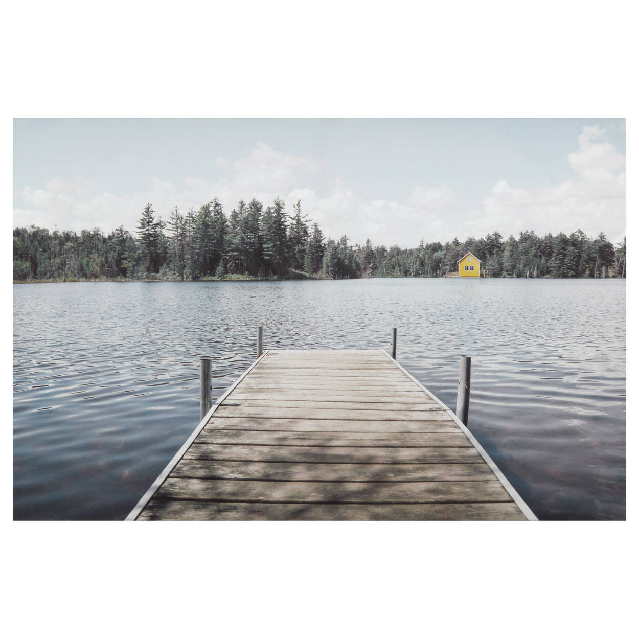 Lone Dock Printed Canvas