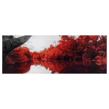 Tableau imprimé d'un lac tranquille