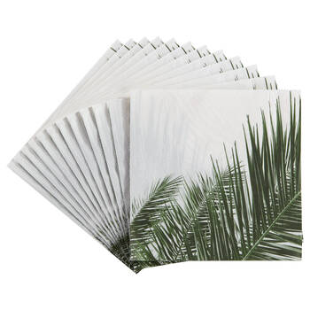 Paquet de 20 serviettes de table