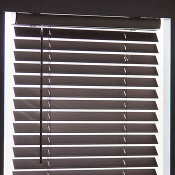 Cordless Faux Wood Blind