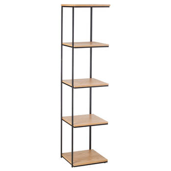 Metal and Natural Wood Shelf