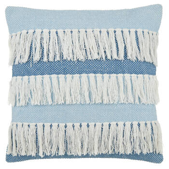 "Fringe Decorative Pillow 18"" x 18"""