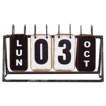 Metal Perpetual Calendar