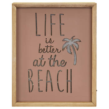 Life at the Beach Lightbox