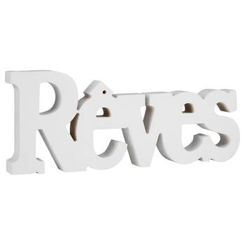 Decorative Word Rêves