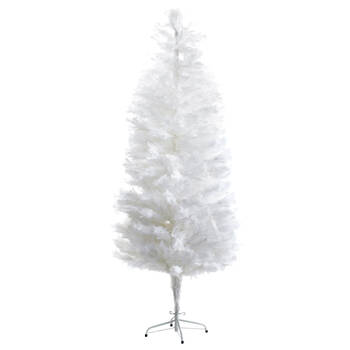 Faux Feathery Tree - 7'