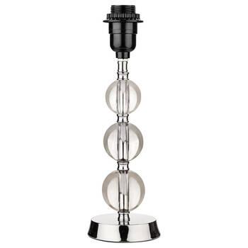 Metal and Glass Lamp Base
