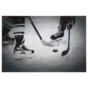 Hockey Printed Canvas