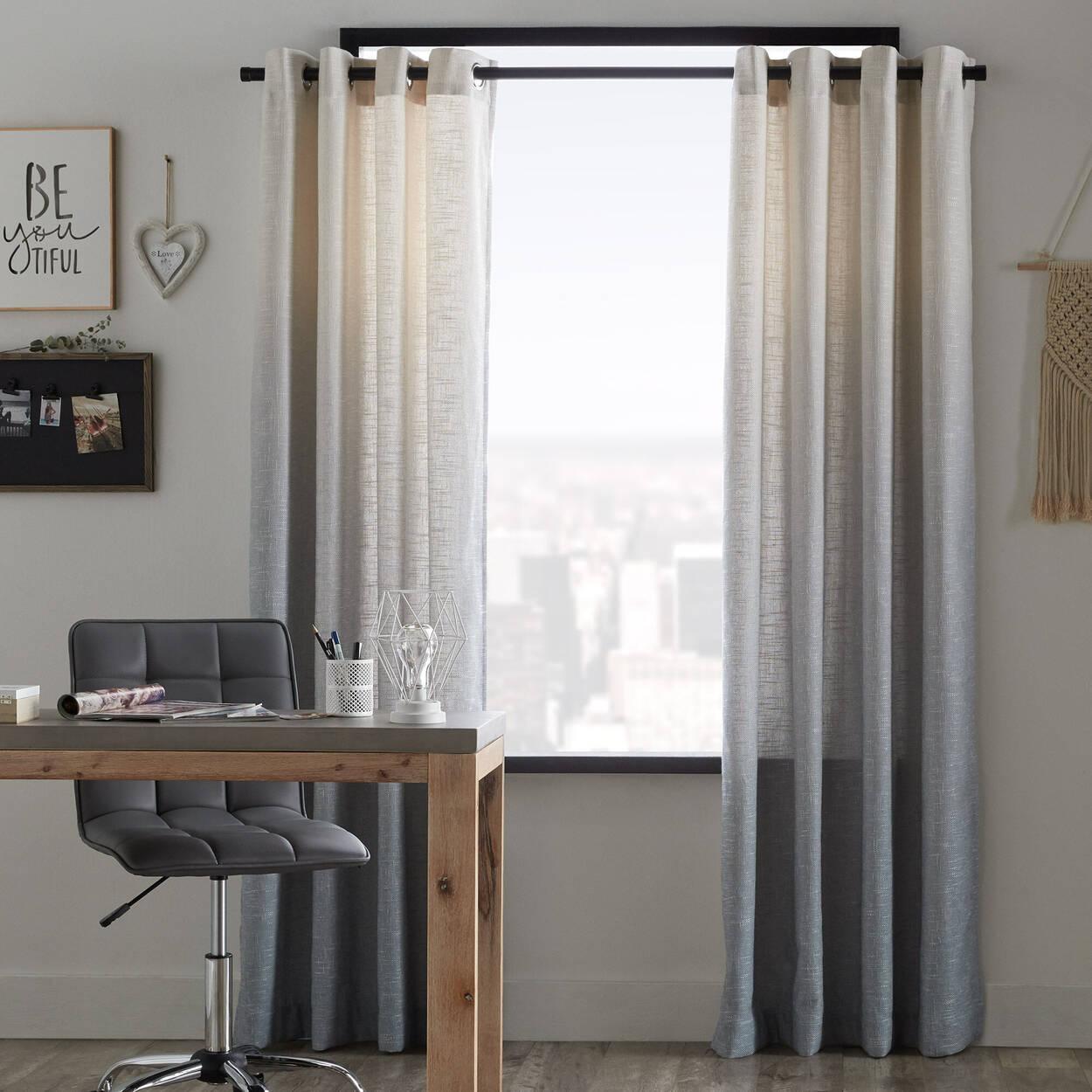 Nador Ombré Woven Curtain