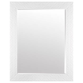 Patterned Frame Mirror