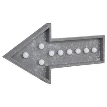 Flèche grise DEL