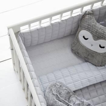 Drap-housse Zig Zag pour lit de bébé