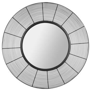 Miroir noir avec fils de fer