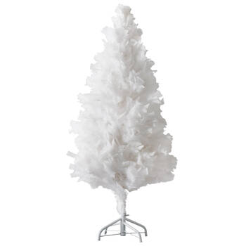 Faux Feathery Tree - 4'