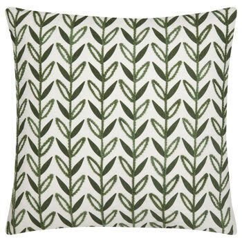 "Haja Embroidered Decorative Pillow 19"" X 19"""