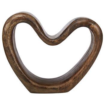 Decorative Mango Wood Heart