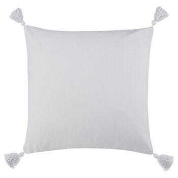 "Ofira Knitted Decorative Pillow with Heart 18"" X 18"""