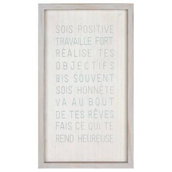 Sois Positive Wall Art