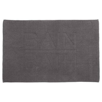 Typography Bath Mat