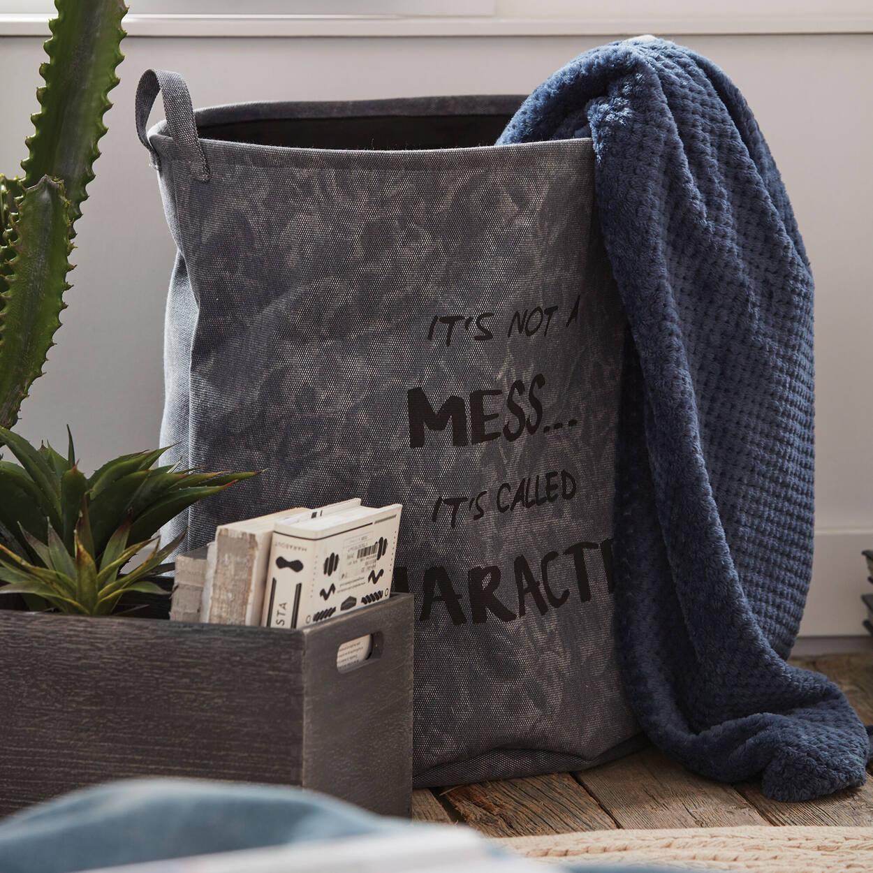 Mess Two-Sided Hamper