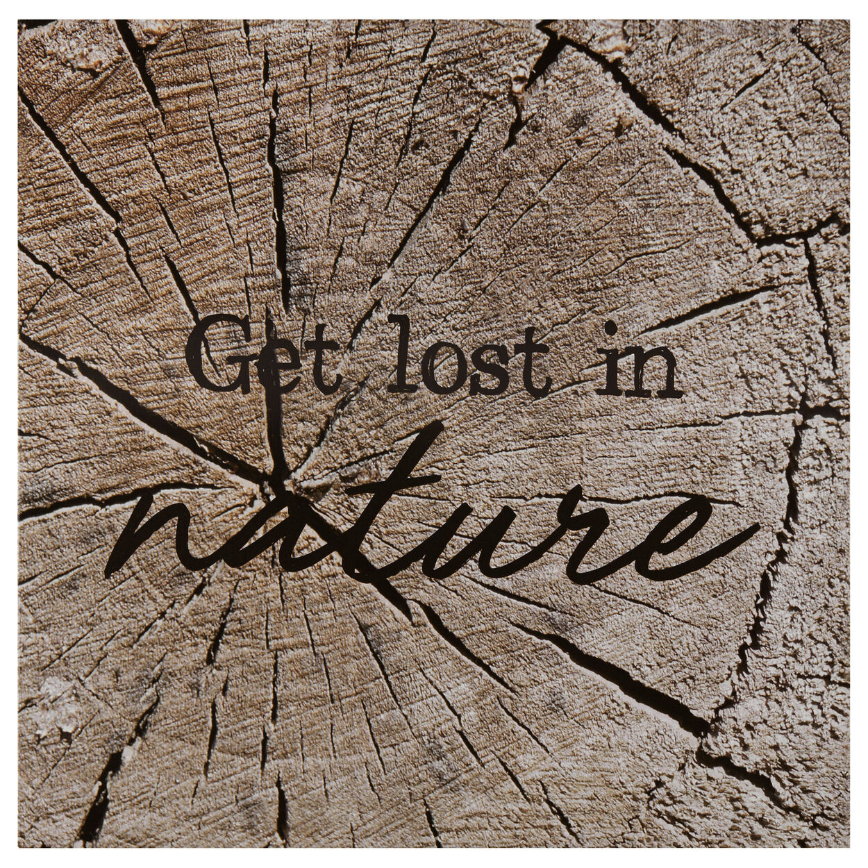 Lost in Nature Printed Canvas