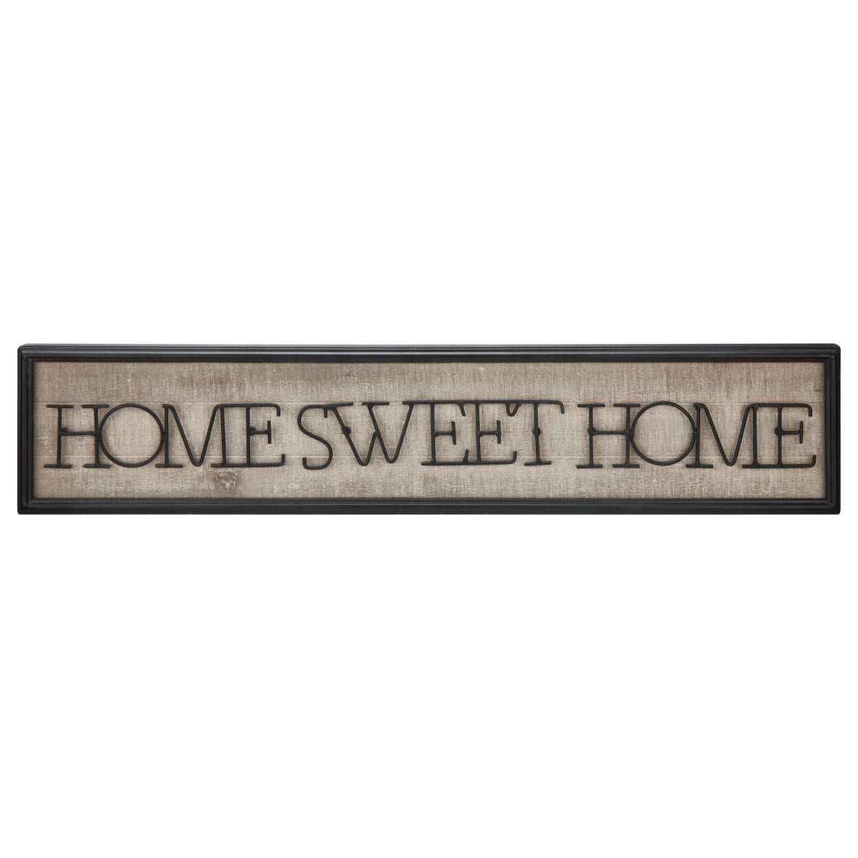 Home Sweet Home Metal Wall Art