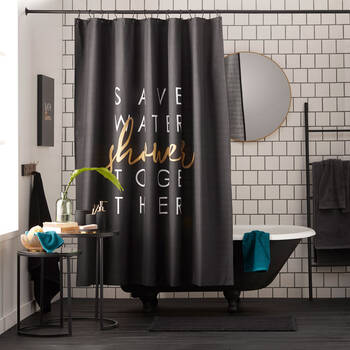 Save Water Shower Curtain