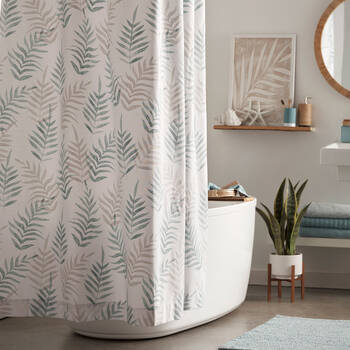 Island Leaves Shower Curtain