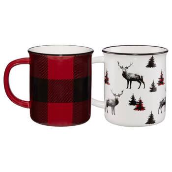 Set of 2 Buffalo Mugs