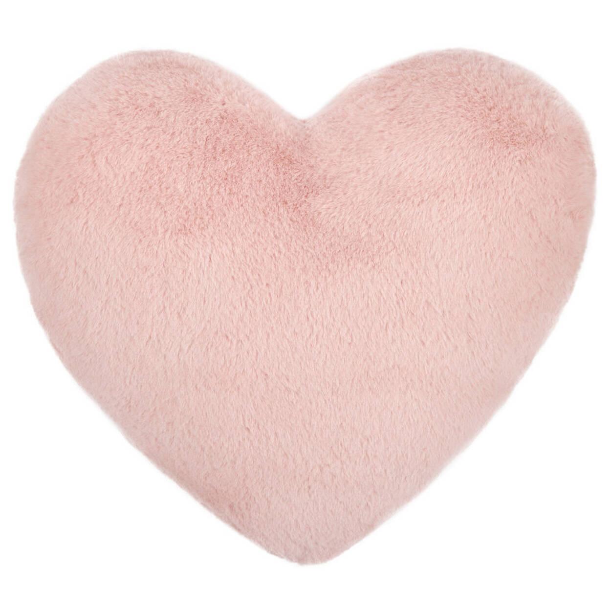 "Wila Heart-Shaped Decorative Pillow 14"" X 15"""