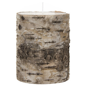 Wood Bark Candle