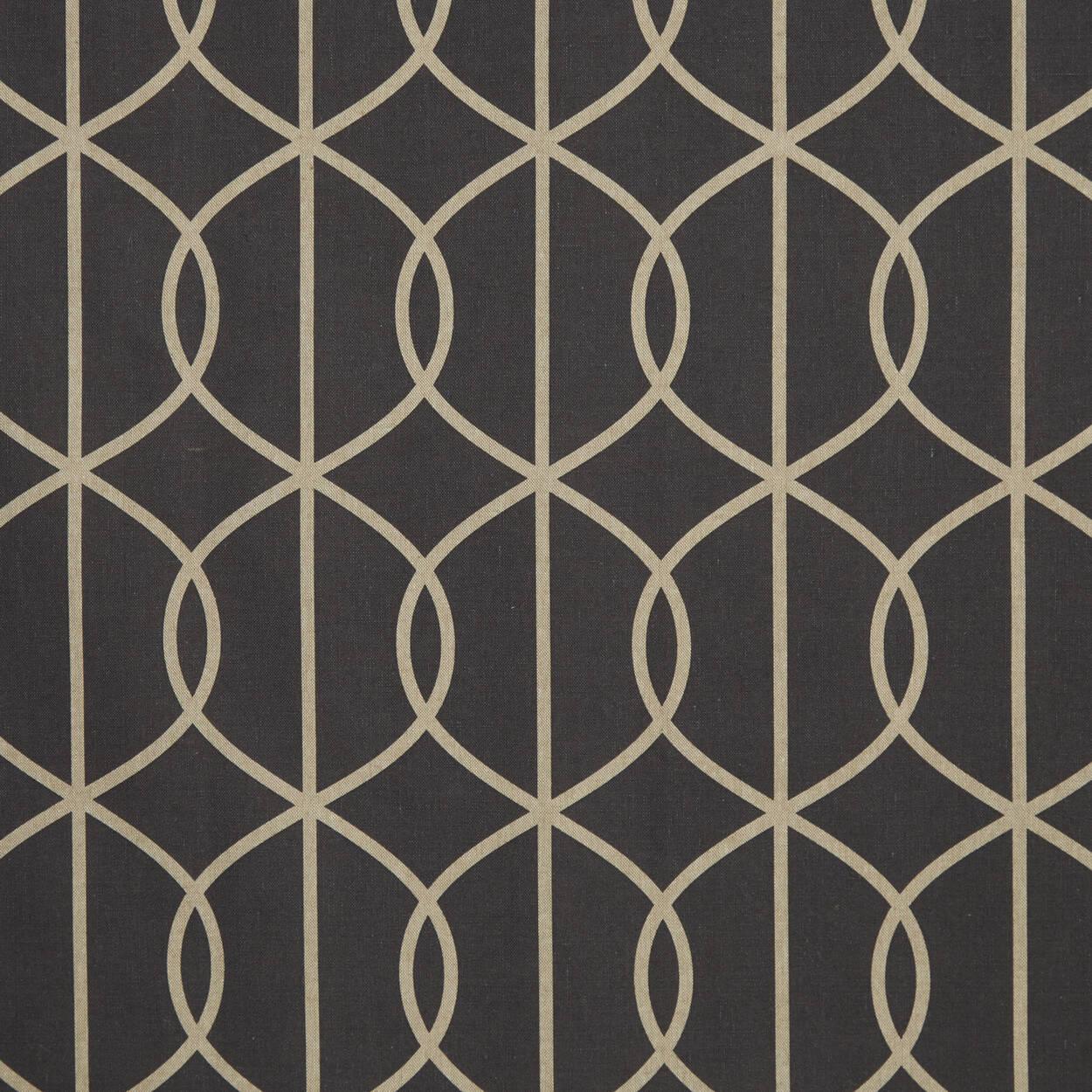 rideau motif g om trique enda. Black Bedroom Furniture Sets. Home Design Ideas
