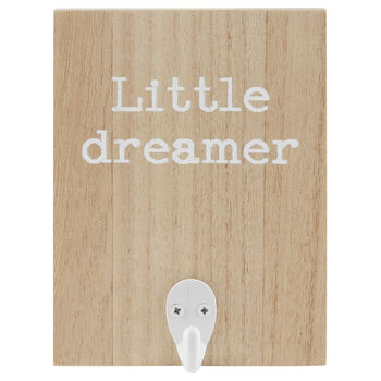 Little Dreamer Wooden Wall Hook