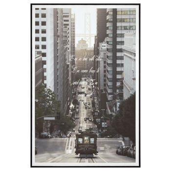 Tramway Printed Framed Art
