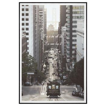 Tramway Printed Framed Art