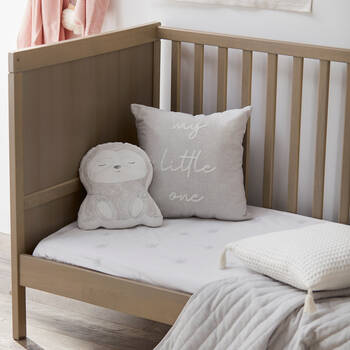 "Bennie Typography Decorative Pillow 16"" x 16"""