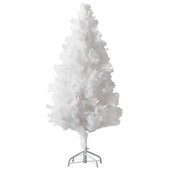 Faux Feathery Tree - 4'