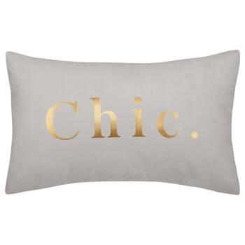"""Chic Decorative Lumbar Pillow 13"""" X 20"""""""