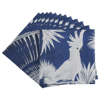 Pack of 20 Cockatoo Paper Napkins