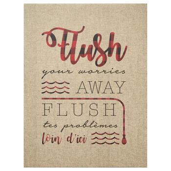 Tableau imprimé Flush