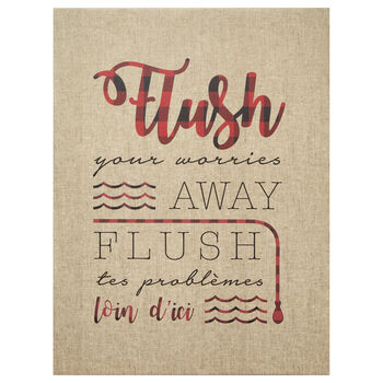 Flush Printed Canvas