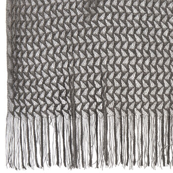 "Arianne Ombré Throw with Tassels 40"" X 60"""