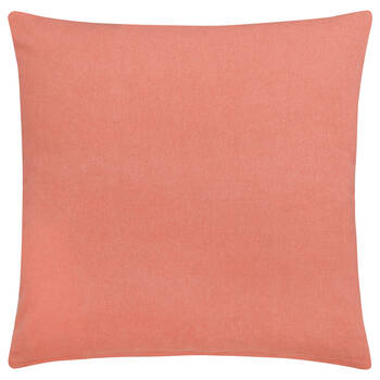 """Coral Decorative Pillow Cover 18"""" x 18"""""""