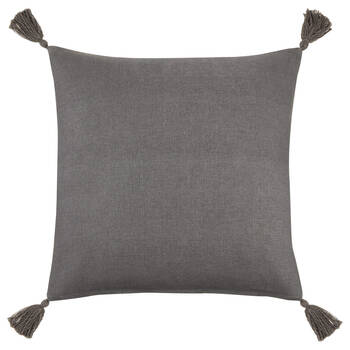 "Shiri Decorative Pillow with Tassels 19"" x 19"""