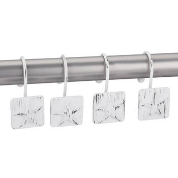 Set of 12 Star Shower Curtain Hooks