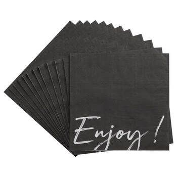 Pack of 20 Paper Napkins