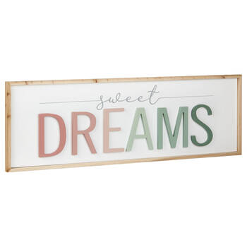 Decorative Plaque Sweet Dreams