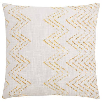 "Kiziah Yellow Decorative Pillow 19"" x 19"""