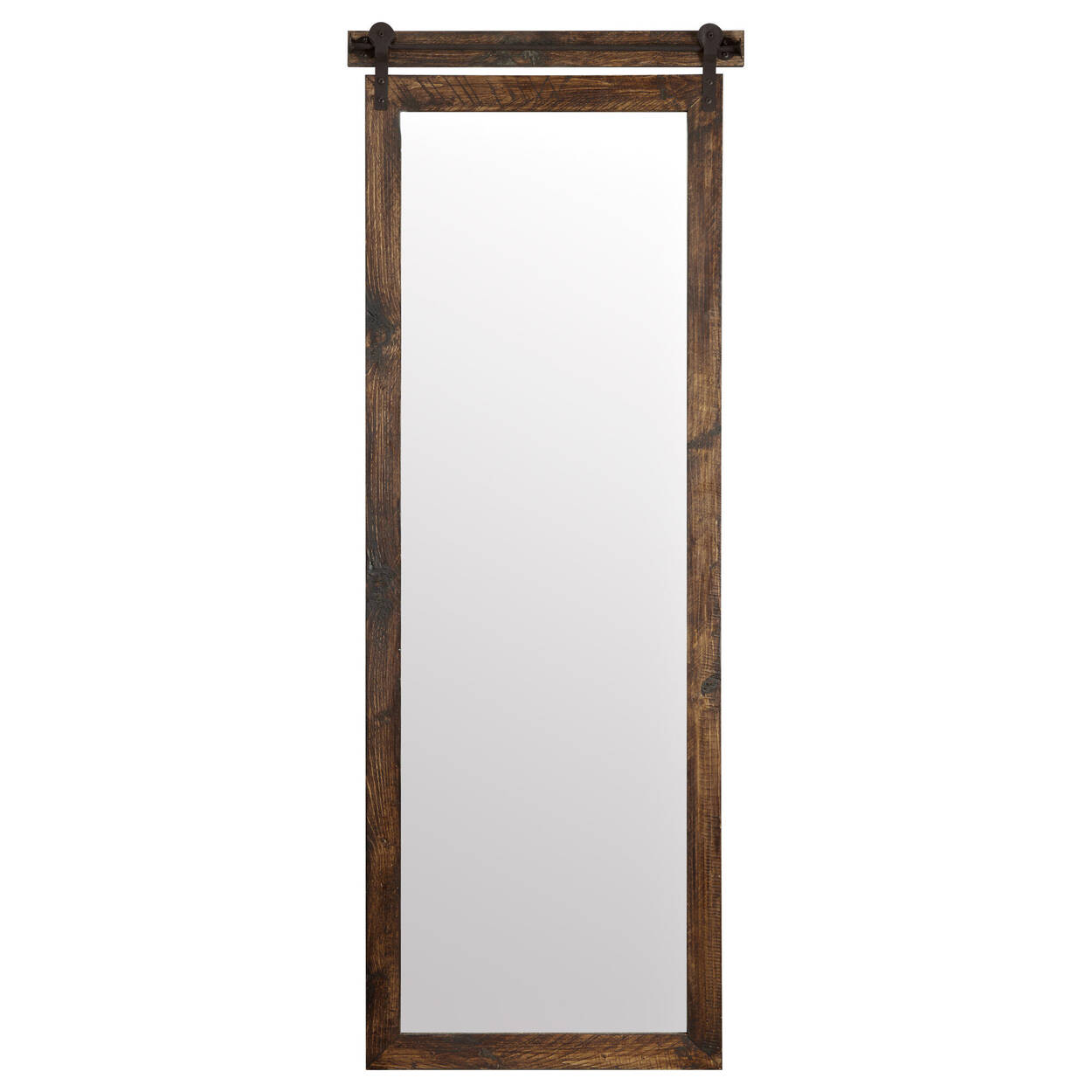 Barn Door Look Mirror
