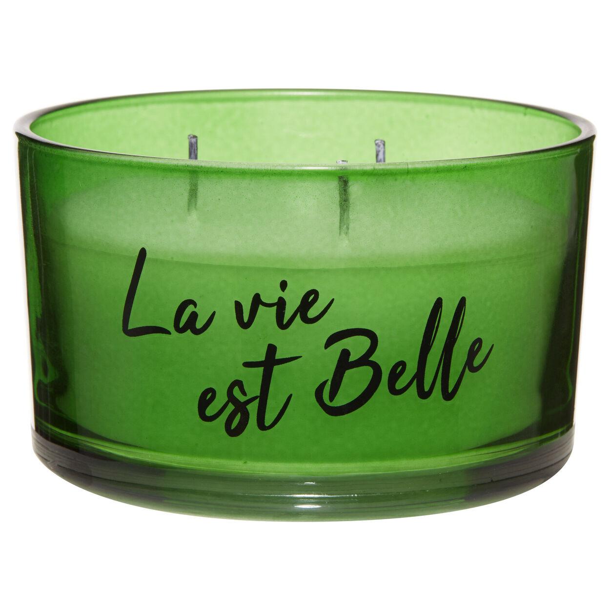 La Vie Est Belle Three-Wick Candle